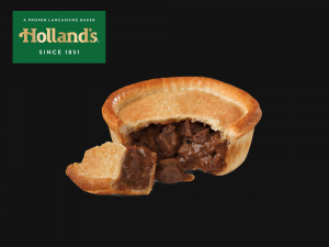 Hollands Peppered Steak Pie